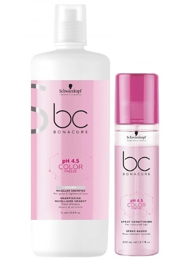 Bonacure pH 4.5 Color Freeze Renk Koruma Silver 2`li Set Renksiz
